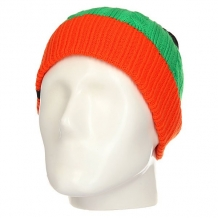 Купить шапка детская quiksilver look up andean toucan оранжевый,зеленый,черный ( id 1158829 )