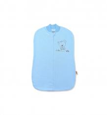 Купить leo пеленка-кокон непоседа, цвет: голубой 1714-4д/ф