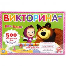 """Купить настольная игра """"викторина 500 вопросов"""" маша и медведь 11007938"""