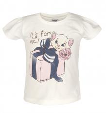 Купить футболка wojcik', цвет: бежевый ( id 547834 )