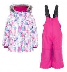 Купить комплект куртка/полукомбинезон zingaro by gusti, цвет: белый/голубой ( id 9911424 )
