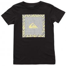 Купить футболка детская quiksilver nanospanoyouth tarmac черный ( id 1194090 )