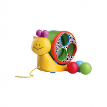 "Игрушка ""Веселая улитка"" на веревочке, Bkids ( ID 4159350 )"