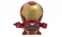 Купить часы марвел (marvel) будильник bulbbotz infinity wars минифигура iron man 14 см 2021685