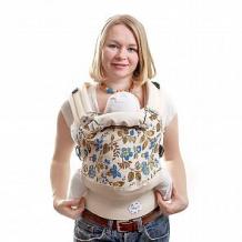 Купить рюкзак-кенгуру slingme райский, цвет: бежевый ( id 12797596 )
