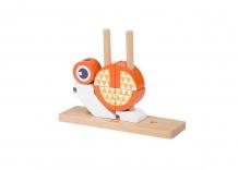 Купить деревянная игрушка classic world вертикальный пазл лисенок 3709