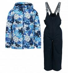 Купить комплект куртка/брюки huppa yoko, цвет: т.синий ( id 10260110 )