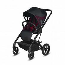 Купить прогулочная коляска cybex balios s fe ferrari, цвет: черный ( id 11004728 )