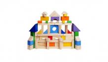 Купить деревянная игрушка paremo конструктор 85 деталей окрашенный в пакете pe117 pe117