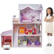 Игровой набор Edufun Дом для кукол с комплектом мебелью 123 см ( ID 386118 )