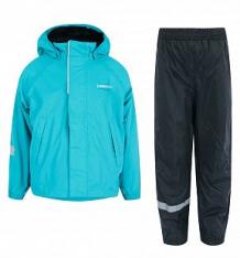 Купить комплект куртка/брюки lassie, цвет: бирюзовый ( id 9754353 )