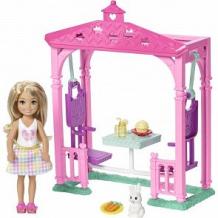 Купить игровой набор barbie челси и набор мебели 30 см ( id 8721103 )