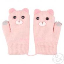 Купить варежки bony kids, цвет: розовый ( id 10964462 )