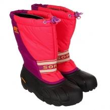 Купить сапоги зимние детские sorel youth cub afterglow an bright plum фиолетовый,розовый,черный ( id 1164882 )