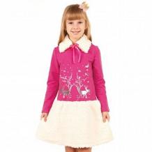 Купить платье апрель зимушка-зима, цвет: розовый ( id 12015154 )