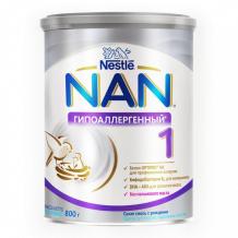 Купить nan ha 1 optipro сухая гипоаллергенная смесь 800 г 12430242