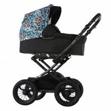 Купить коляска 2 в 1 sevillababy valiente, цвет: черный ( id 12646828 )