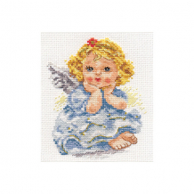 """Купить набор для вышивания алиса """"ангелок мечты"""" 11х14 см ( id 16690849 )"""