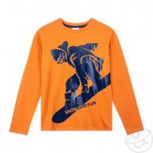 Купить джемпер play today mountain adventure, цвет: оранжевый/синий ( id 11781802 )