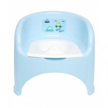 Купить горшок-кресло с изображение машин, детский, цвета: голубой, белый mothercare 2303220