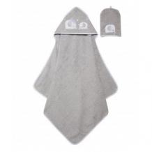 """Купить полотенце с капюшоном """"слоненок"""" и рукавичка mothercare 4223380"""