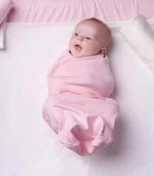 Купить pecorella пеленка swaddlefun xl, цвет: розовый 2000000000206