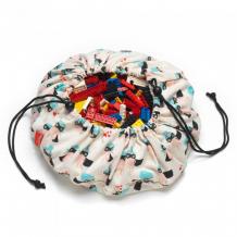 Купить play&go 2 в 1: мини-мешок для хранения игрушек и игровой коврик супергёрл 40 см 79990