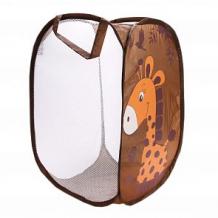 Купить корзина для игрушек наша игрушка жирафик ( id 12745726 )
