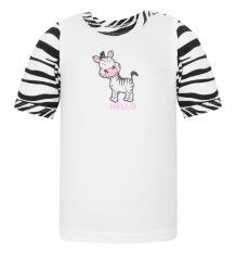 Купить футболка mamatti zebra, цвет: белый/черный ( id 5077219 )