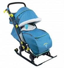 Санки-коляска Nika Kids Детям 7-3, цвет: синий ( ID 7477711 )