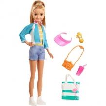 Купить mattel barbie fwv16 барби стейси из серии путешествия
