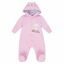 Купить комбинезон мелонс котик, цвет: розовый ( id 10893788 )
