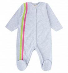 Купить комбинезон lucky child, цвет: розовый/серый ( id 2679629 )