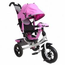 Купить трехколесный велосипед moby kids comfort 12x10 air car 2, цвет: лиловый ( id 10459547 )