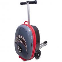 Купить чемодан-самокат zinc flyte акула, высота 48 см ( id 6945446 )