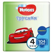 Трусики-подгузники Huggies для мальчиков 9-14 кг, Disney Box 52х2, 104 штуки ( ID 4861814 )