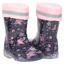 Купить резиновые сапоги mursu, цвет: розовый/сиреневый ( id 11205014 )