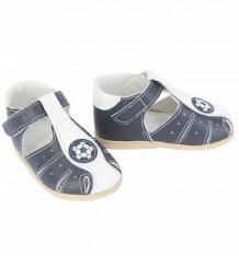 Купить сандалии скороход, цвет: белый/синий ( id 4940377 )
