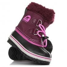 Купить ботинки зимние детские sorel yoot pac nylon purple dahlia фиолетовый ( id 1185009 )
