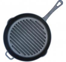 Купить биол сковорода-гриль чугунная литая ручка 26 см 1126