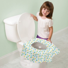 Купить защитная накладка на унитаз summer infant keep me clean, 20 шт. summer infant 996868183