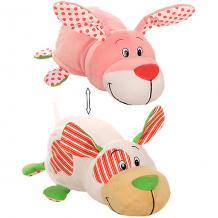"""Купить мягкая игрушка-вывернушка 1toy """"ням-ням"""" щеночек с ароматом мятной жвачки-зайчонок с ароматом фруктовой жвачки, ( id 10465672 )"""