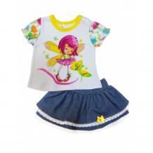 Купить soni kids комплект (футболка и юбка) феечка л7121017