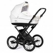 Купить коляска-люлька bebizaro merced, цвет: белый ( id 12852760 )
