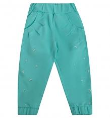 Купить брюки совенок я, цвет: бирюзовый ( id 7698073 )