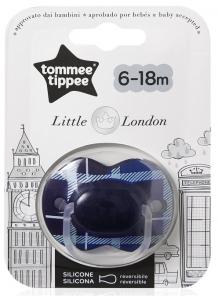 "Купить пустышка силиконовая tommee tippee ""лондон"", 6-18 мес. tommee tippee 997029347"