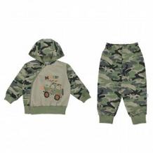 Купить комплект джемпер/брюки aga, цвет: хаки ( id 11205512 )