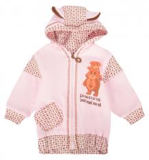 Купить толстовка babyglory надписи, цвет: розовый н020