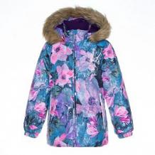 Купить куртка huppa loore, цвет: фиолетовый ( id 10868330 )