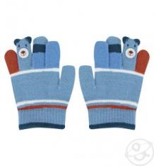 Купить перчатки bony kids, цвет: синий ( id 9777552 )